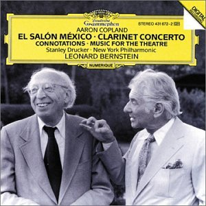 Aaron copland leonard bernstein new york philharmonic for Aaron copland el salon mexico