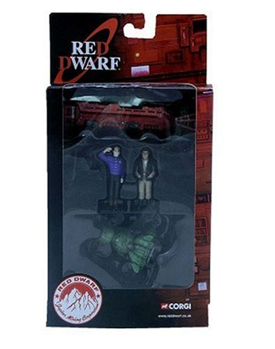 Red Dwarf  &  Starbug (With Lister  &  Rimmer figures)