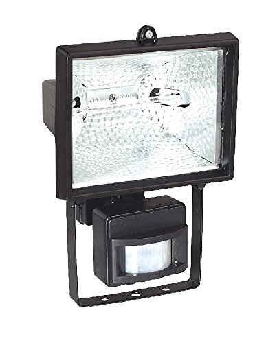 Sealey MD520C C-Class Tungsten/ Halogen Floodlight with Wall Bracket and PIR Sensor, 400 W, 230V