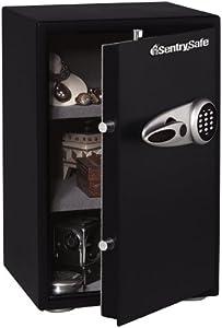 SentrySafe T6-331 2.3 Cubic Foot Security Safe, Black