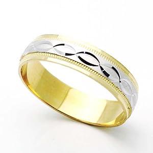Ring Two Tone Swivel Ring