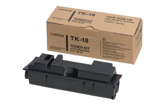 Kyocera Tk-18 Toner Kit For Use In Model Fs1020D - 7,200 Page Yield