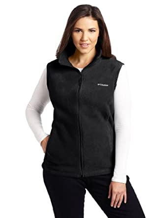 Columbia Women's Plus-Size Benton Springs Vest Plus, Black, 1X