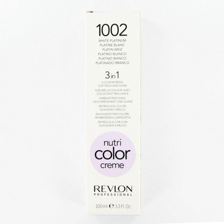 Revlon Cura Capillare, Nutri Color Cream, 100 ml, 1002-Platine Blanc