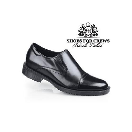 com: Shoes For Crews - Statesman - Black / Men's Anti Slip Dress Shoes