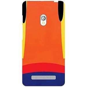 Asus Zenfone 5 Orange Matte Finish Phone Cover - Matte Finish Phone Cover