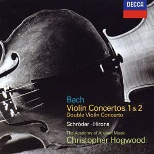 Johann Sebastian Bach: Violin Concertos Nos. 1 & 2 / Concerto for 2 Violins - The Academy of Ancient Music