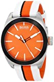 Hugo Boss 1512997 Men's Sports Orange Dial Nylon Strap Quartz Watch