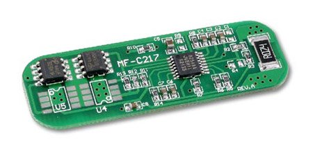 Protection Circuit Module (PCB) for 11.1V Li-Ion Battery Pack (3 cells with 6.5A limit)