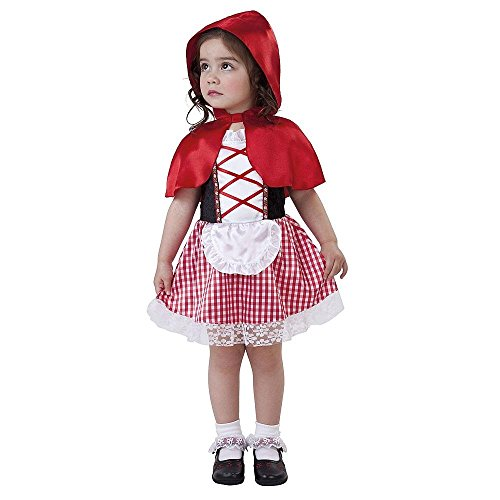 Lil Red Riding Hood Costume Infant Toddler 2-4 Years