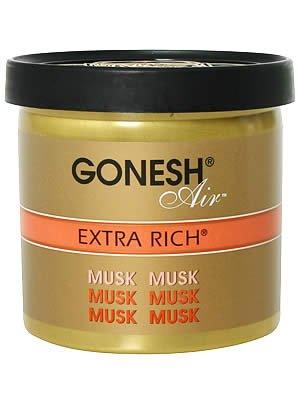 GONESH ゲルエアフレッシュナー エクストラリッチ ムスク