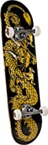 Powell Golden Dragon Striking Dragon Complete Skateboard (7.625-Inch)