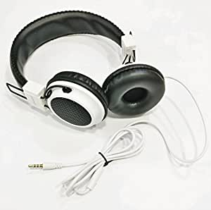 MobileGabbar Acer Liquid Z520 Compatible Wired Headphone with Mic and Calling Aux 3.5 mm jack