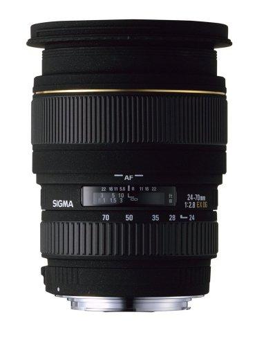 Sigma EX - Objectif à zoom - 24 mm - 70 mm - f/2.8 DG - Nikon F