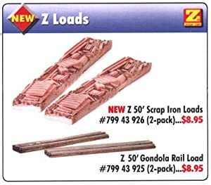 MicroTrains 50 Foot Gondola Scrap Iron Loads (2 pack) (Now Sold Out at Micro Trains)
