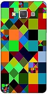 Snoogg Mosaic Tiles Polygon 2881 Designer Protective Back Case Cover For Sams...