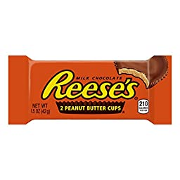 REESE\'S Peanut Butter Cups (1.5-Ounce Packages, Pack of 36)