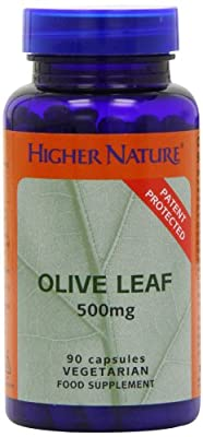 Higher Nature Olive Leaf Extract 500mg Pack of 90 by Higher Nature