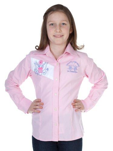La Martina - Camicia - Maniche lunghe -  ragazza pink 10 anni