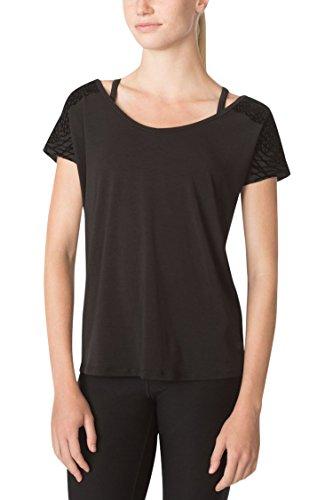 MPG Julianne Hough Women's Melody 2.0 Oversized Tee XL Black