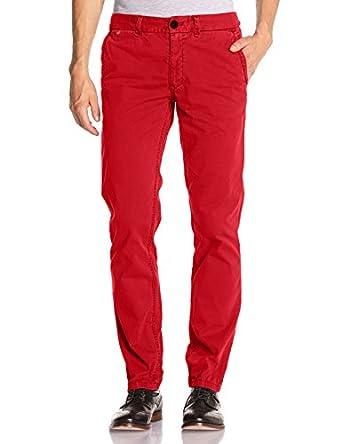 Hilfiger Denim - Freddy - Pantalon - Chino - Uni - Homme - Bleu (Blue Sapphire) - FR : W33/L34 (Taille fabricant : 33/34)