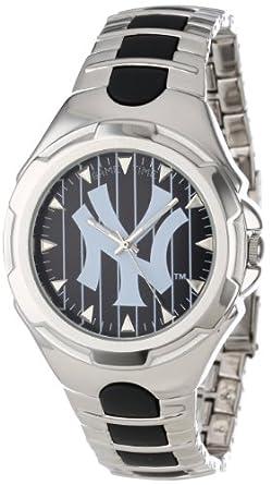 MLB Mens MLB-VIC-NY3 Victory Series New York Yankees Pinstripe Watch by Game Time