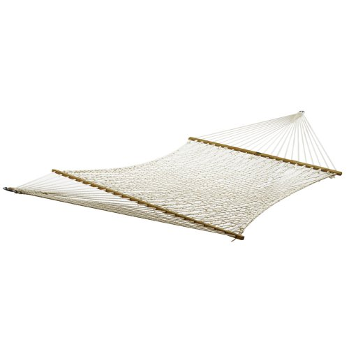Algoma 4941C Two Point Deluxe Cotton Rope Hammock