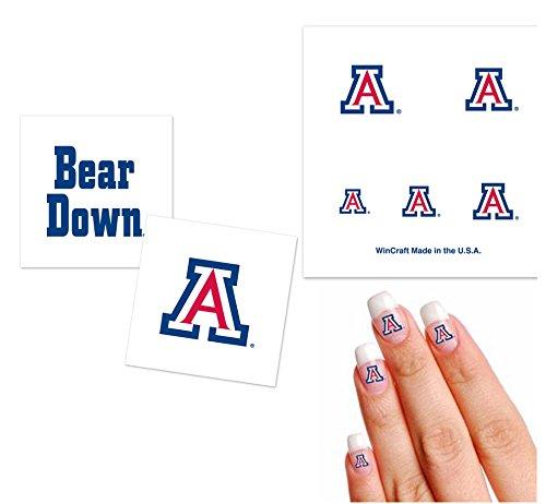 university-of-arizona-wildcats-temporary-tattoo-fan-pack