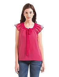 Prym Women's Body Blouse Shirt (1011518302_Pink _Large)