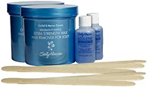 Sally Hansen Sally Hansen Extra Strength Wax Hair Removal Kit for Body