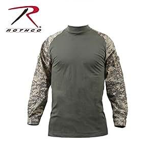 Rothco Combat Shirt, ACU Digital Camo, X-Small