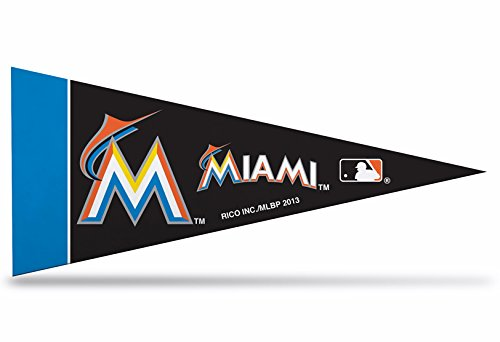 Miami Marlins Mini Felt Pennant & Jose Fernandez Mini Fathead 2014