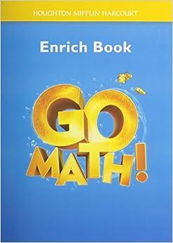 Go Math!: Enrich Workbook Student Edition, Grade K ...