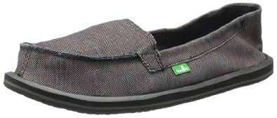 Sanuk Women's Shorty Loafer,Black/Multi,5 M US