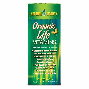 Natural Vitality Organic Life Vitamins, Nutripacks 30 Nutri Packs