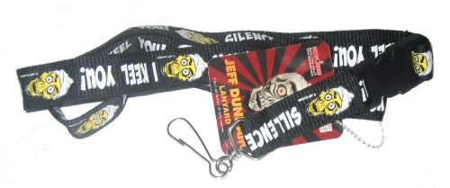 Jeff Dunham Silence I Keel You Lanyard LAND115