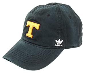 Buy adidas Tennessee Volunteers Black Faded Logo Patch Hat by adidas