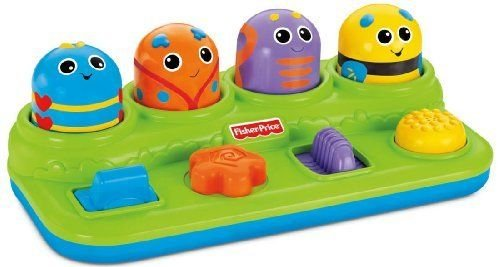 Fisher-Price-Brilliant-Basics-Boppin-Bugs-ACTIVITY-CENTER-BABY-Development-TOY