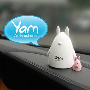 Yam Totoro Aroma Air Freshener (White-Mint) (Car Air Freshener Refillable compare prices)