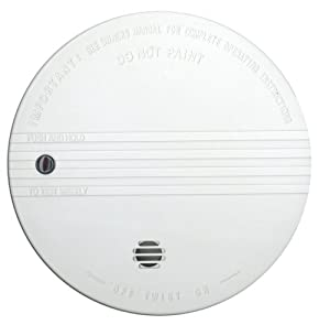 kidde i9030 fyrewatch battery operated smoke alarm smoke detectors amazon. Black Bedroom Furniture Sets. Home Design Ideas