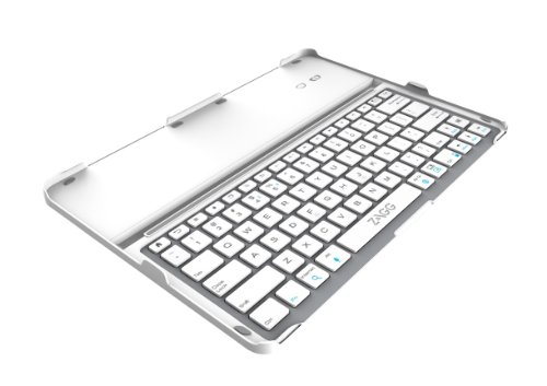 Zagg Cover Fit Case With Bluetooth Keyboard For Samsung 12.2 Inch Galaxy Note Pro Or Tab Pro-White