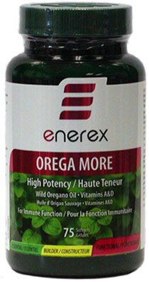 Orega More (Oil Of Oregano + Vitamins A & D) - 75 Capsules