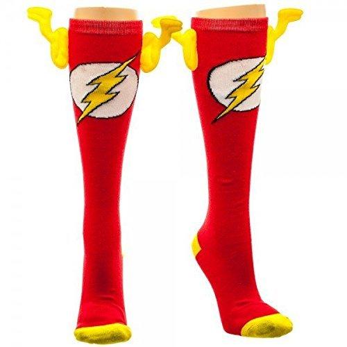 the-flash-wing-socks-knee-high-sock-size-9-11