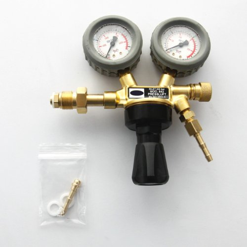 Druckminderer Druckluft Pressluft für Druckluftflasche Pressluftflasche 0-10 bar