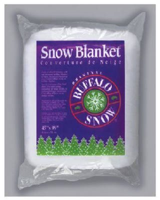 Buffalo Batt & Felt 45X99 Snow Blanket Cb1166 Christmas Skirts & Drapes