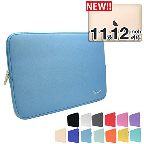 [MS factory/RMC series] MacBook 12インチ /11.6インチ 用 ネオプレーン インナーケース MacBook 12インチ /Air 11.6インチ 対応 プロテクト 撥水 スリーブ ケース 《RMC オリジナル カラー》 スカイブルー (水色) RMC-NEOIPC11SKY
