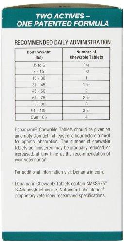 nutramax denamarin tablets small dog cat 30 count animals pet supplies pet supplies. Black Bedroom Furniture Sets. Home Design Ideas