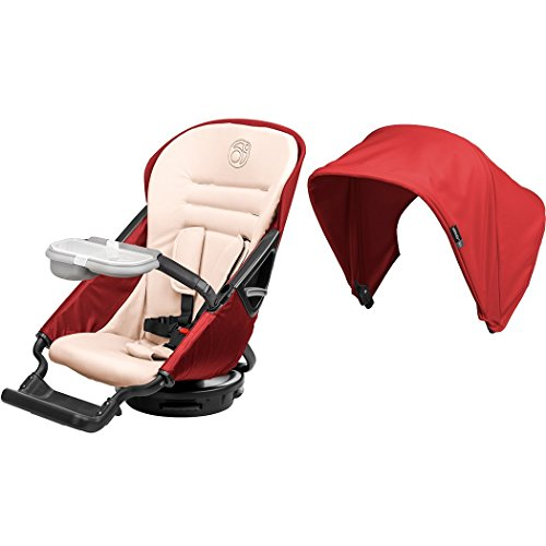 Orbit Baby G3 Stroller Seat + Sunshade, Ruby - 1