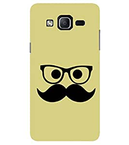 Evaluze gentleman Printed Back Cover for SAMSUNG GALAXY ON7 2015