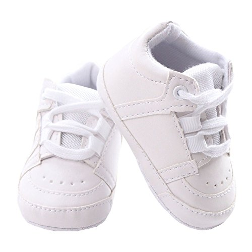 Baby Soft Sole Lace-up Sneaker Infant Casual Early Walking Shoes Crib Shoes Size L (Walking Shoes For Babies compare prices)